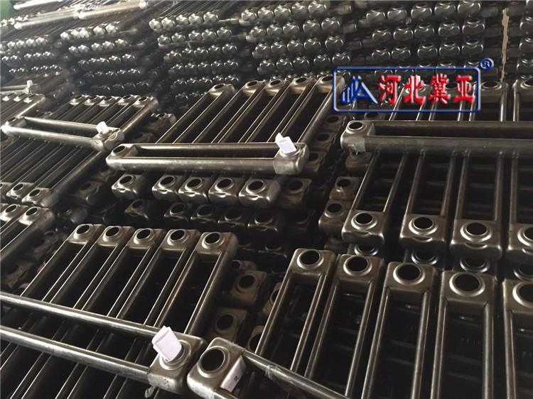 宁德钢制弧四柱散热器技术参数高清图