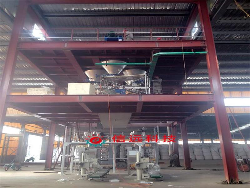 徐州小型水溶肥生产线客户案例