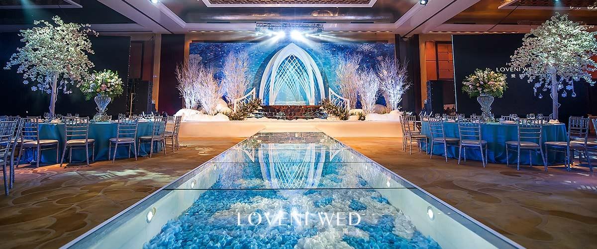 杭州鲜花预定,婚庆典礼策划,年会主持,风尚百合婚庆